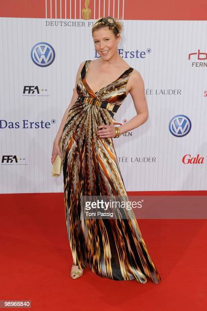 Actress Franziska Weisz attends the 'German film award 2010' at Friedrichstadtpalast on April 23 2010 in Berlin Germany