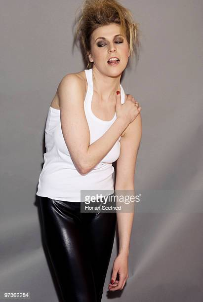 Actress Franziska Weisz poses for a picture at a portrait session during the 60th Berlin International Film Festival at the Berlinale Palast on...