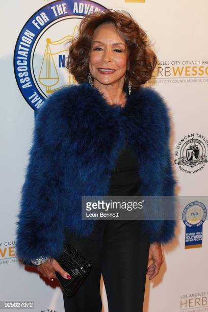 Actress Freda Payne attends the 27th Annual NAACP Theatre Awards at Millennium Biltmore Hotel on February 26 2018 in Los Angeles California