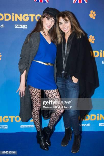 Actress Frederique Bel and Writer AnnaVeronique El Baze attend 'Paddington 2' Paris Premiere at L'Olympia on November 19 2017 in Paris France