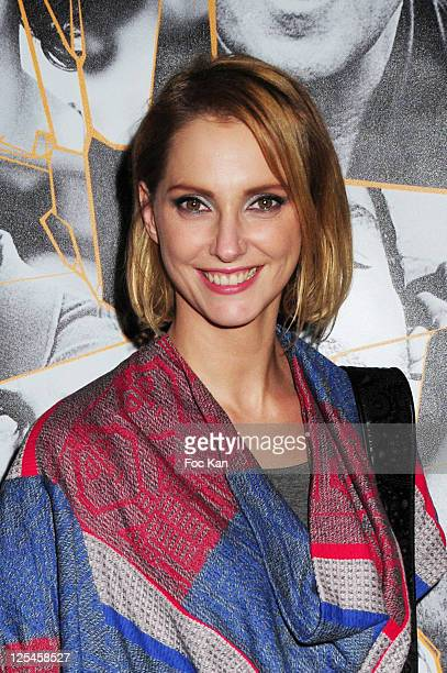 Actress Frederique Bel attends 'Les Petits Mouchoirs' Premiere After Party at L'Arc Club on October 14 2010 in Paris France