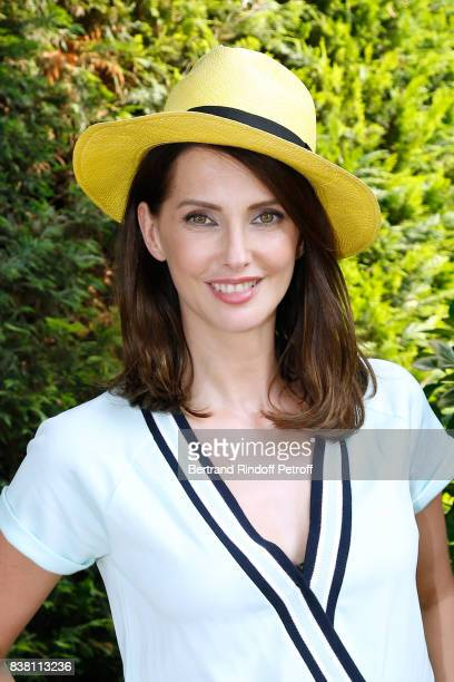 Actress Frederique Bel attends the 10th Angouleme FrenchSpeaking Film Festival Day Two on August 23 2017 in Angouleme France