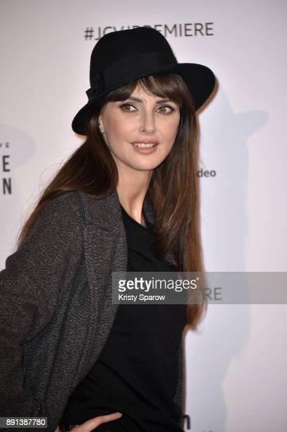 Actress Frederique Bel attends the Amazon TV series 'Jean Claude Van Johnson' Premiere at Le Grand Rex on December 12 2017 in Paris France at Le...