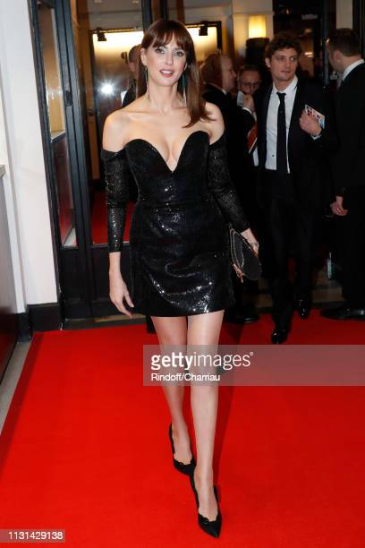 Actress Frederique Bel attends the Cesar Film Awards 2019 at Salle Pleyel on February 22 2019 in Paris France