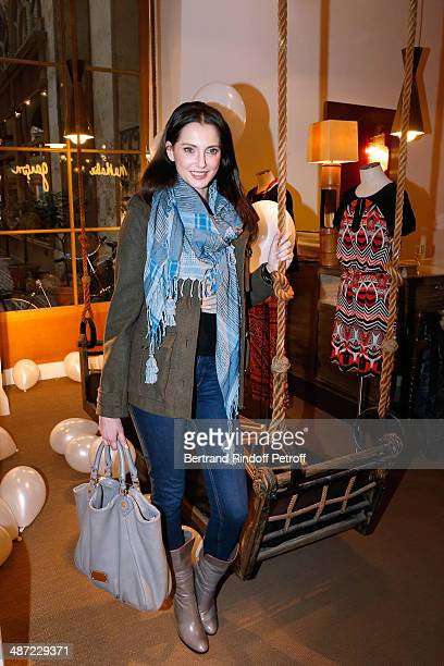 Actress Frederique Bel attends the 'Charriol' Ephemeral Boutique opening hosted by Nathalie Garcon at Nathalie Garcon store Galerie Vivienne on April...