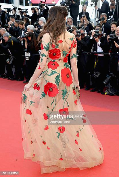 Actress Frederique Bel attends the Julieta premiere during the 69th annual Cannes Film Festival at the Palais des Festivals on May 17 2016 in Cannes...