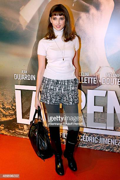 Actress Frederique Bel attends the 'La French' Paris Premiere Held at Cinema Gaumont Capucine on November 25 2014 in Paris France