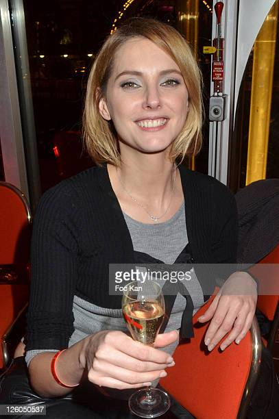 Actress Frederique Bel attends the 'So Happy in Paris ' 10th Anniversary at the Eiffel Tower on December 14 2010 in Paris France