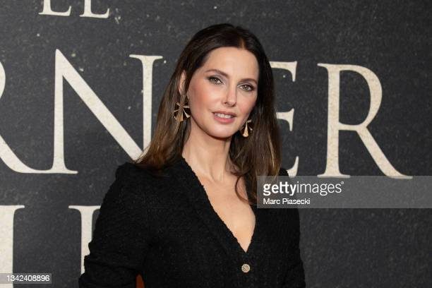 """Actress Frederique Bel attends the """"The Last Duel"""" premiere At Gaumont Champs Elysees In Paris on September 24, 2021 in Paris, France."""