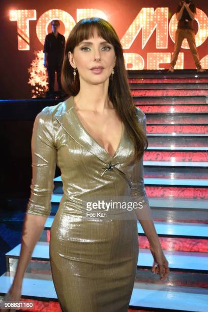 Actress Frederique Bel attends the Top Model Belgium Awards 2018 Ceremony at Lido on January 21 2018 in Paris France