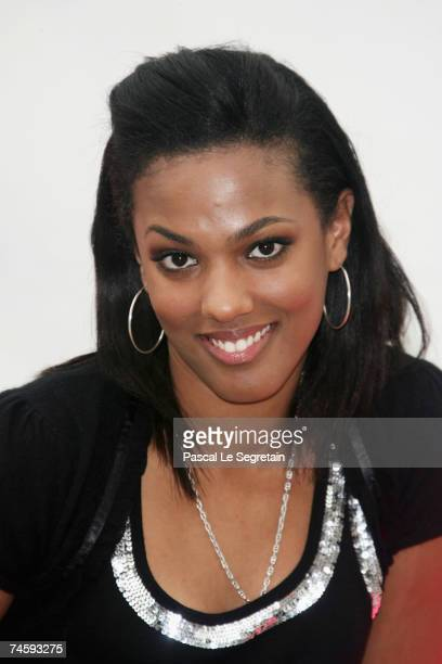 Actress Freema Agyeman attends a photocall promoting the television serie 'Doctor Who' on the fourth day of the 2007 Monte Carlo Television Festival...