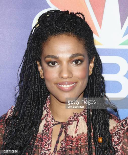 Actress Freema Agyeman attends the NBC Fall New York Junket at Four Seasons Hotel New York on September 6 2018 in New York City