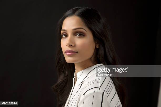 Actress Freida Pinto is photographed for Los Angeles Times on May 17 2017 in Los Angeles California PUBLISHED IMAGE CREDIT MUST READ Kirk McKoy/Los...