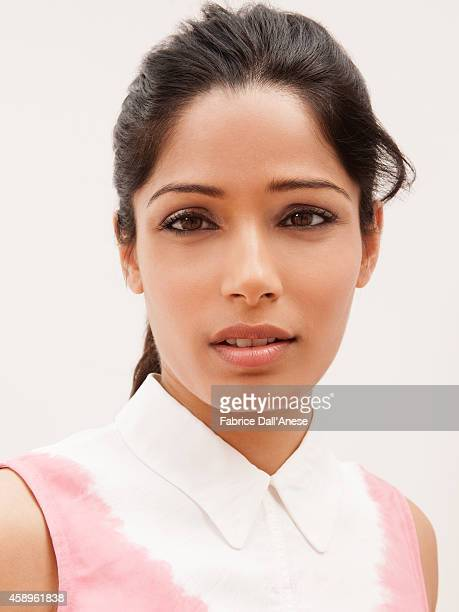 Actress Freida Pinto is photographed for Vanity Fair Italy on September 1 2013 in Venice Italy