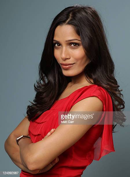 Actress Freida Pinto of Trishna poses for a portrait during 2011 Toronto Film Festival on September 9 2011 in Toronto Canada