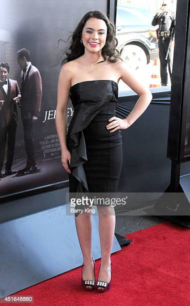 Actress Freya Tingley attends the 2014 Los Angeles Film Festival closing night premiere of 'Jersey Boys' at Premiere House on June 19 2014 in Los...
