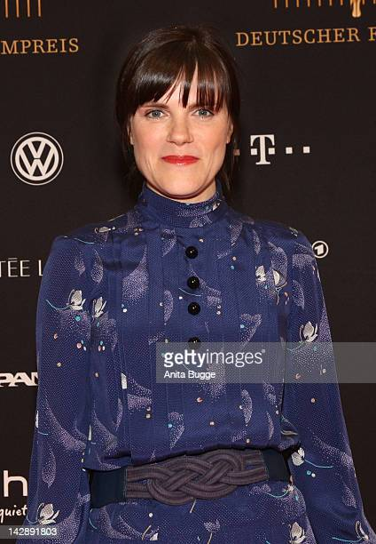 Actress Fritzi Haberlandt attends the nominees reception of the Deutscher Filmpreis award on April 14 2012 in Berlin Germany