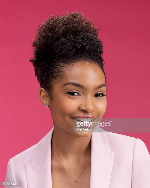 Actress from ABC's 'Blacksh' Yara Shahidi is photographed for Los Angeles Times on April 11 2016 in Los Angeles California PUBLISHED IMAGE CREDIT...