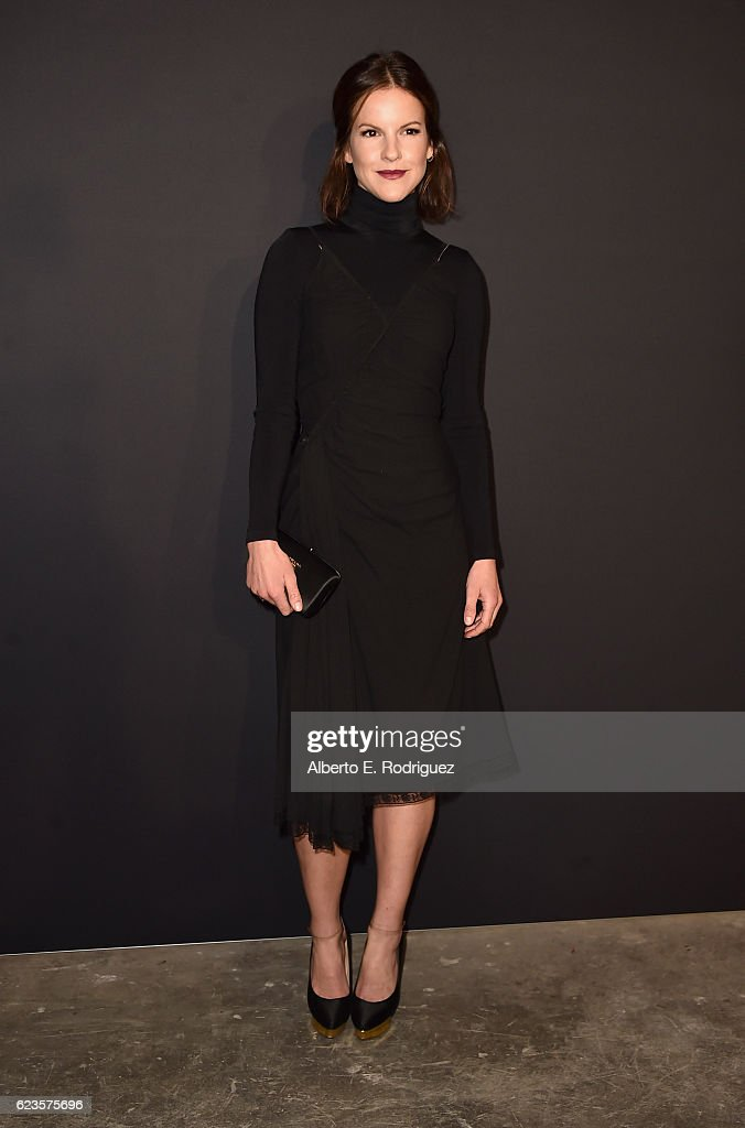 Actress Fuschia Kate Sumner attends Prada Presents 'Past Forward' by David O. Russell premiere at Hauser Wirth & Schimmel on November 15, 2016 in Los Angeles, California.