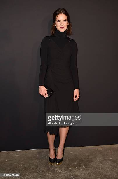 Actress Fuschia Kate Sumner attends Prada Presents 'Past Forward' by David O Russell premiere at Hauser Wirth Schimmel on November 15 2016 in Los...