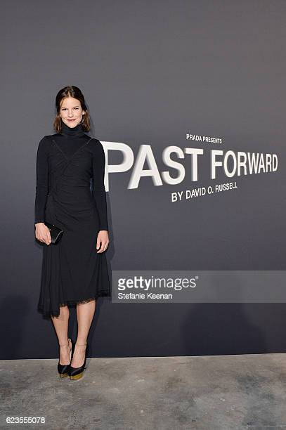 Actress Fuschia Kate Sumner attends the premiere of 'Past Forward' a movie by David O Russell presented by Prada on November 15 2016 at Hauser Wirth...