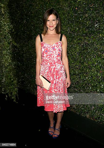 Actress Fuschia Sumner attends the 2016 Women In Film Max Mara Face of the Future celebrating Natalie Dormer at Chateau Marmont on June 14 2016 in...