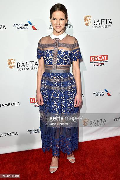 Actress Fuschia Sumner attends the BAFTA Awards Season Tea Party at Four Seasons Hotel Los Angeles at Beverly Hills on January 9 2016 in Los Angeles...