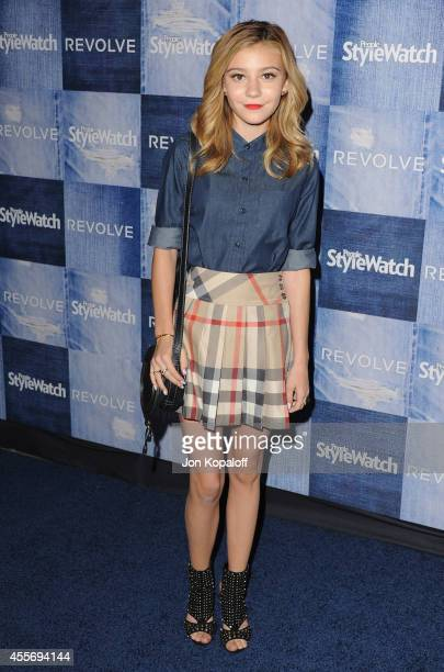 Actress G Hannelius arrives at the People StyleWatch 4th Annual Denim Awards Issue at The Line on September 18 2014 in Los Angeles California