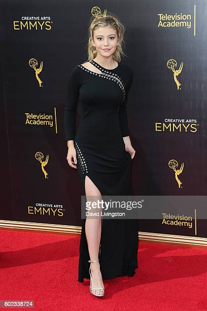 Actress G Hannelius attends the 2016 Creative Arts Emmy Awards Day 1 at the Microsoft Theater on September 10 2016 in Los Angeles California