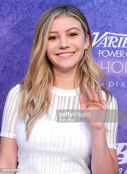 Actress G. Hannelius attends Variety's Power of Young Hollywood event, presented by Pixhug, with Platinum Sponsor Vince Camuto at NeueHouse Hollywood...