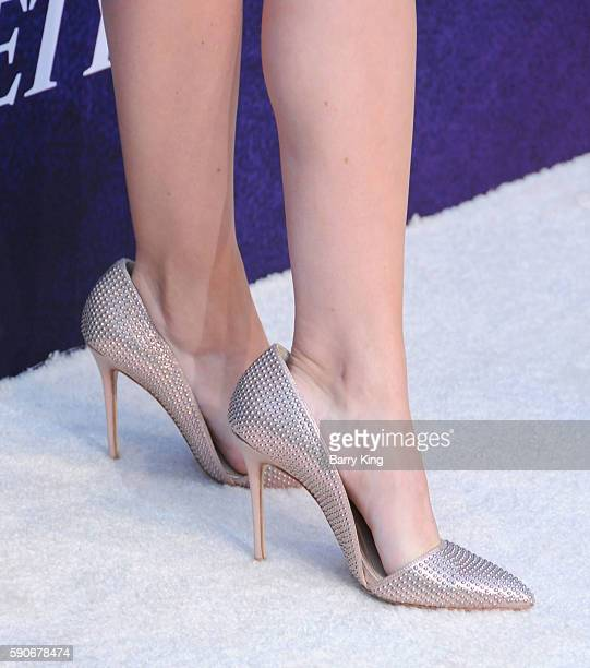 Actress G. Hannelius, shoe detail, attends Variety's Power of Young Hollywood event, presented by Pixhug, with Platinum Sponsor Vince Camuto at...