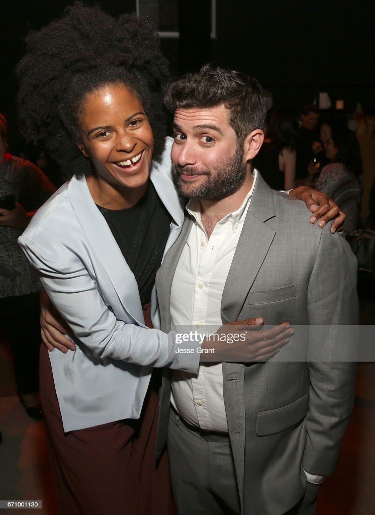 Actress Gabby Maiden and Head of Comedy & Drama at Amazon Studios, Joe Lewis attend the premiere of Amazon's 'I Love Dick' after party on April 20, 2017 in Los Angeles, California.