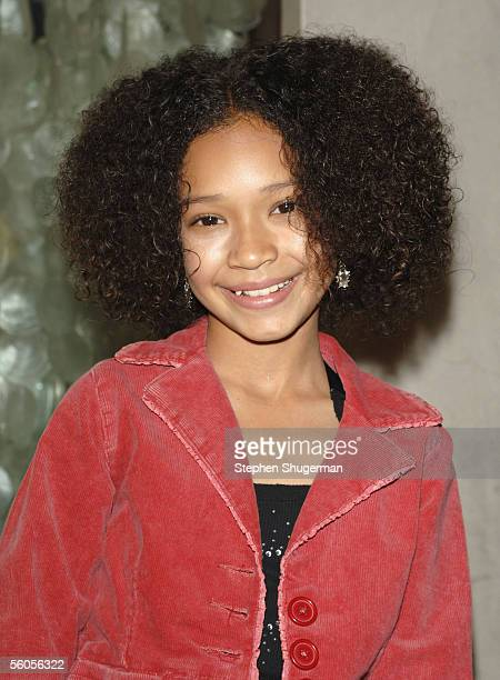 Actress Gabby Soleil attends the Los Angeles Launch Party For The TV Series The Boondocks at Mood on November 1 2005 in Hollywood California