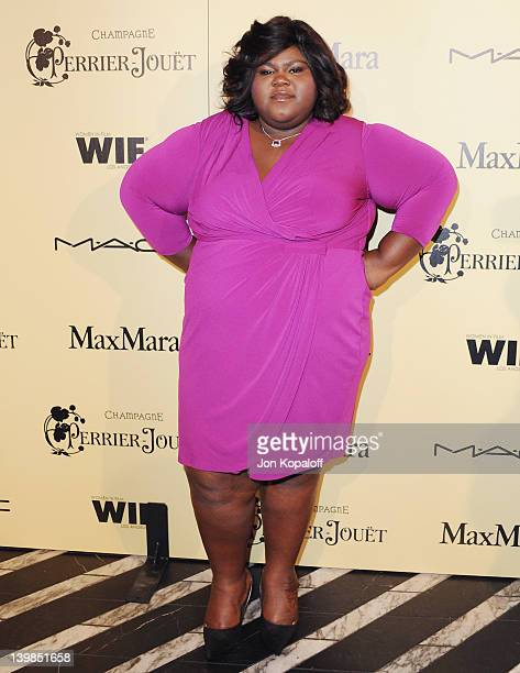 Actress Gabourey Sidibe arrives at the 5th Annual Women In Film Pre-Oscar Cocktail Party at Cecconi's Restaurant on February 24, 2012 in Los Angeles,...