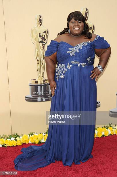 Actress Gabourey Sidibe arrives at the 82nd Annual Academy Awards at the Kodak Theatre on March 7, 2010 in Hollywood, California.