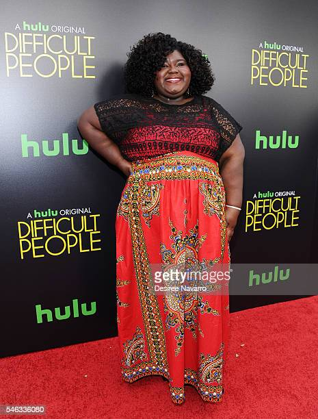 Actress Gabourey Sidibe attends 'Difficult People' New York Premiere at The Metrograph on July 11 2016 in New York City
