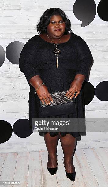 Actress Gabourey Sidibe attends go90 Sneak Peek at the Wallis Annenberg Center for the Performing Arts on September 24 2015 in Beverly Hills...