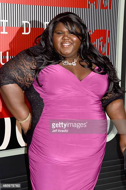 Actress Gabourey Sidibe attends the 2015 MTV Video Music Awards at Microsoft Theater on August 30 2015 in Los Angeles California