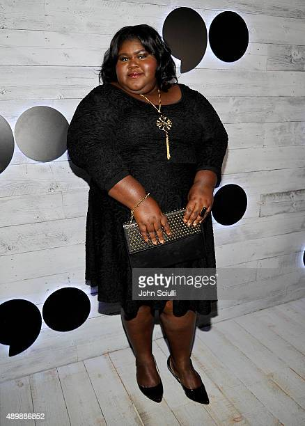Actress Gabourey Sidibe attends the VIP sneak peek of the go90 Social Entertainment Platform at the Wallis Annenberg Center for the Performing Arts...