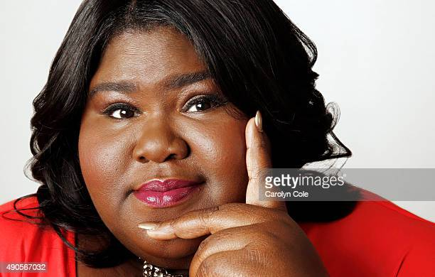 Actress Gabourey Sidibe is photographed for Los Angeles Times on September 5 2015 in New York City PUBLISHED IMAGE CREDIT MUST BE Carolyn Cole/Los...