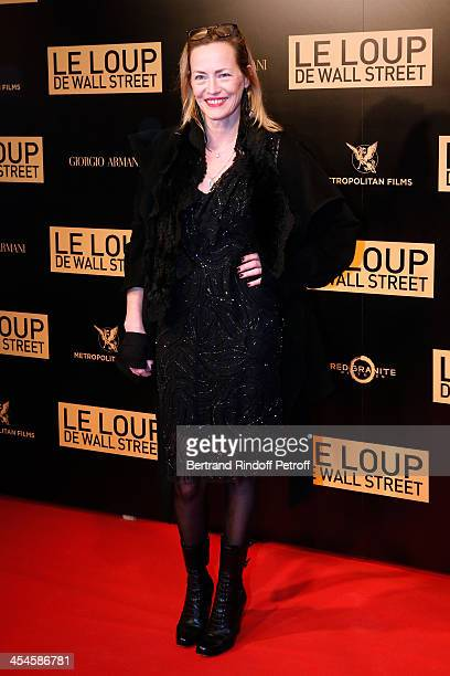 Actress Gabriel Lazure attends the photocall before the 'The Wolf of Wall Street' World movie Premiere at Cinema Gaumont Opera on December 9 2013 in...