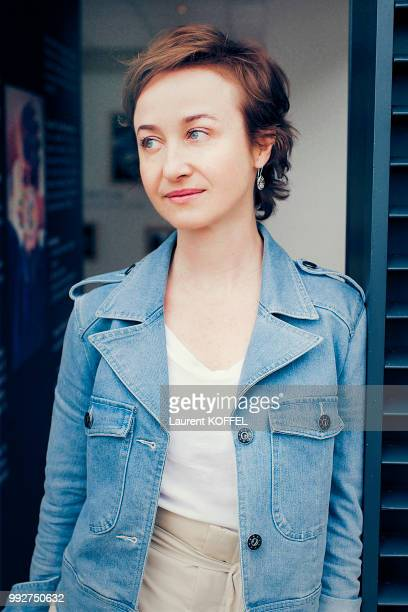 Actress Gabriela Muskala is photographed for self assignment during the 71st annual Cannes Film Festival at Palais des Festivals on May 16 2018 in...
