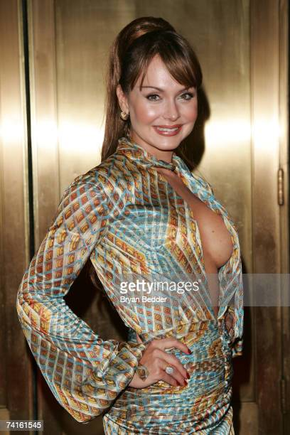 Actress Gabriela Spanic arrives at the Telemundo 2007 Upfront presentation at Radio City Music Hall May 15 2007 in New York City