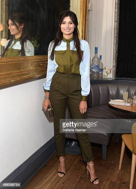 Actress Gabriella Wright attends the Septembers of Shiraz TIFF Party Hosted By GREY GOOSE Vodka at Byblos on September 15 2015 in Toronto Canada