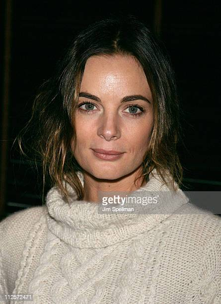 Actress Gabrielle Anwar attends the 2008 Hoboken International Film Festival Press Conference at the Harbor Bar and Brasserie at the Sheraton Suites...