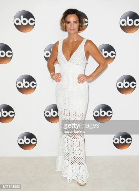 Actress Gabrielle Anwar attends the Disney ABC Television Group TCA summer press tour at The Beverly Hilton Hotel on August 6 2017 in Beverly Hills...