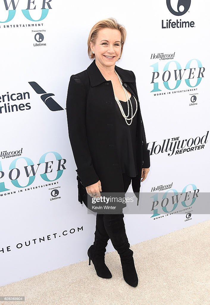 Actress Gabrielle Carteris attends The Hollywood Reporter's Annual Women in Entertainment Breakfast in Los Angeles at Milk Studios on December 7, 2016 in Hollywood, California.