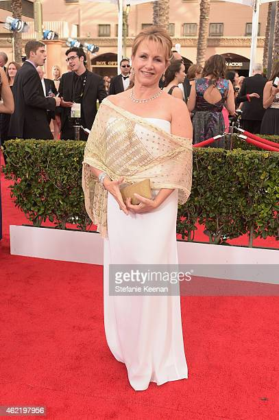 Actress Gabrielle Carteris attends TNT's 21st Annual Screen Actors Guild Awards at The Shrine Auditorium on January 25, 2015 in Los Angeles,...