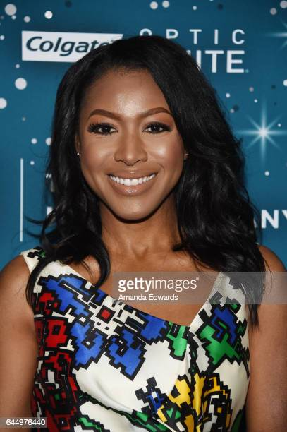 Actress Gabrielle Dennis arrives at the Essence 10th Annual Black Women in Hollywood Awards Gala at the Beverly Wilshire Four Seasons Hotel on...