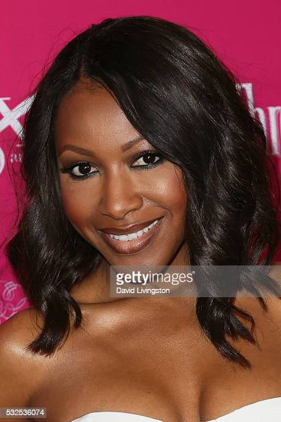Actress Gabrielle Dennis arrives at the OK Magazine's So Sexy LA at the Skybar at Mondrian on May 18 2016 in West Hollywood California